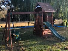 Kids timber cubby house / fort /playground