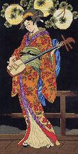 Cross Stitch Kit ~ Janlynn Kameko Beautiful Asian Lady & Music #023-0324 OOP