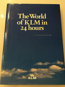 KLM DUTCH AIRLINES 70 YEARS ANNIVERSARY BOOK B747 DC8 DC10 STEWARDESS ROUTE MAP