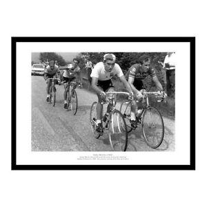 Eddy Merckx First Tour de France Victory 1969 Cycling Photo Memorabilia (622)