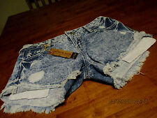 Amethyst  jean shorts size 3 Bleached out destructed BLING $34.00