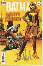 BATMAN WHITE KNIGHT 6 VARIANT SIGNED SEAN MURPHY NO CGC ROBIN BATGIRL JOKER