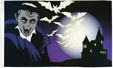 Happy Halloween Vampire Flag Halloween Monster Flag 3x5ft