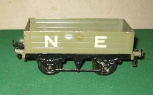 Vintage Hornby O Gauge No.1 Open Wagon NE Livery