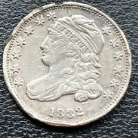 1832 Capped Bust Dime 10c High Grade XF Details #25658