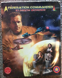 Federation and Commander Boxed set unpunched
