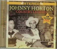 Johnny Horton - Country Legend - [CD - New