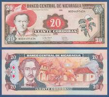 NIKARAGUA / NICARAGUA  20 Cordobas 1995  UNC  P.182