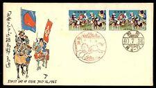 Briefmarken mit Pferden aus China