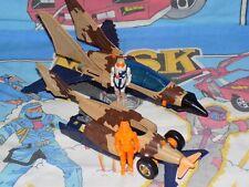 M.A.S.K loose comp SKYBOLT kenner Fighter Jet mask MATT TRAKKER Split Seconds