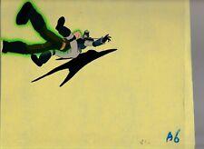 """GI JOE Cartoon 10.5x9.5"""" Animation Prod. Cel FN+ 6.5 Steve Fight 413 A6-42"""