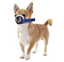Quick Muzzle for Dogs - Xxs - Blue Adjustable strap Efficient