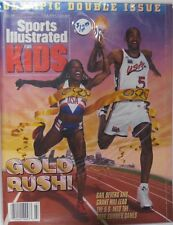 July 1996 Gail Devers & Grant Hill USA Sports Illustrated For Kids NO LABEL