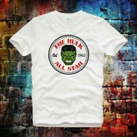 The Incredible Hulk All Star Converse Superhero Est 1962  UnisexT Shirt B719