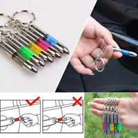 1pcs Anti-static Keychain Key Ring Built-in LED Emitter Car Interior Accessor_ti