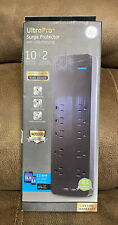 GE Jasco Ultra Pro Surge Protector 10 Outlets + 2 USB Charging 10W 2.1 amp