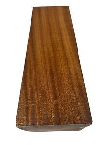 "Sapele Wood Turning Blank/ Pepper Mill Blank/ wood Block Lathe 4"" x 30"""