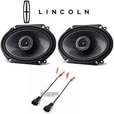 "Kenwood 6x8"" Rear Car Speaker Replacement Kit For 1999-2002 Lincoln Navigator"
