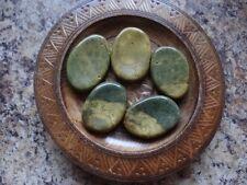 *GOLD OCEAN JASPER* LG Pocket Worry Thumb Palm Stone (1) Gemstone Metaphysical