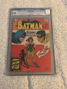 Batman 181 CGC 5.0 1st Poison Ivy