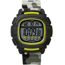 Mens Wristwatch TIMEX BOOST SHOCK TW5M26600 Silicone Camouflage Gray Digital