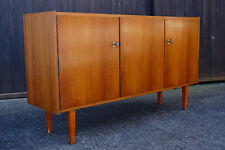 60er Vintage Sideboard Kommode Nussbaum Retro Anrichte Danish Mid-Century 3