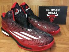 RARE🔥 Adidas NBA Joakim Noah Player Exclusive Autographed Shoes Chicago Bulls
