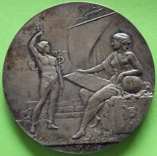 MEDAL SILVER SOCIETE FOR THE DEFENCE TRADE OF MARSEILLE BY G. MARTIN