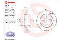 1x BREMBO Disco de Freno Trasero Pleno 262mm 08.C172.10