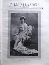 L'illustrazione Italiana 11 Gennaio 1914 Parsifal di Wagner Regina Elena Politeo
