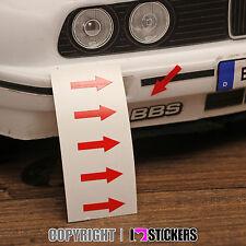1:10 Abschleppösen Kennzeichnung  Aufkleber RC Car Karosserie  Truck LKW RC008