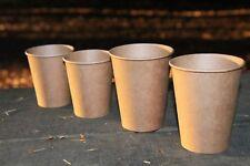 BIO Kaffeebecher Coffee to go Becher Trinkbecher – braun