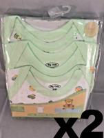 Big Oshi Unisex Baby 6-Pack Lap Shoulder Tees, 18-24 Months, NIP Free Shipping