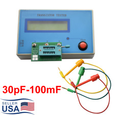 Transistor Tester Diode Capacitance Capacitor Meter Esr Resistor Npn Pnp Mosfet