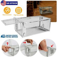 "Animal Trap 10.6""x5.5""x4.3& #034; Steel Cage for Small Live Rodent Control Rat Mice"