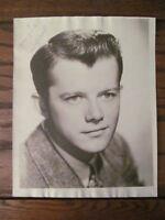 Original Vintage 1940s 1950s Lon McCallister Promo Photo Autograph Portrait