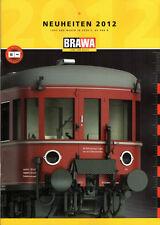 BRAWA NEUHEITEN KATALOG 2012 für 0, H0 & N!