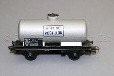 Y559 Jouef train Ho 641 wagon citerne transport Vin VINS DU POSTILLON 2 essieux
