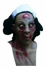 Dawn Of The Dead Sister Ghoulish DELUXE ADULT LATEX ZOMBIE NURSE MASK