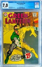 Green Lantern #63; Sept. 1968; Silver Age; CGC 7.0