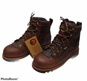 "Red Wing Irish Setter 867 Trailblazer Hunting Boots 7"" Waterproof Outdoor Sz 10"