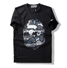 Männer Bape Star Printing T-Shirt Camo Aape Kurzarm T-Shirt Muster Tops S-2XL