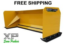 7' Xp30 Snow pusher boxes skid steer backhoe loader Bobcat Free Shipping