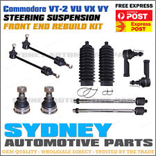 10pcKit Commodore VT-2 VU VX VY FRONT Ball Joint Rack Tie End Boot Sway Bar Link