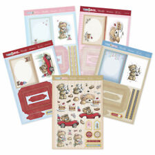 Hunkydory 'teddy Loves Decoupage Book Concept Cards' - See Description