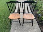 Hitchcock chair co Black/riverton Stonington Side Chairs, Read ,Boston Pickup