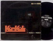KOMKOL Index LP 1973 Kanal Germany orig VG++