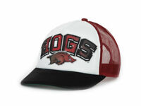 Arkansas Razorbacks NCAA In the Paint Mesh back Adjustable Foam Trucker Cap Hat