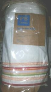 POTTERY BARN TEEN GOODY TWO SHEETS BED SKIRT, TWIN , NEW , BED SKIRT