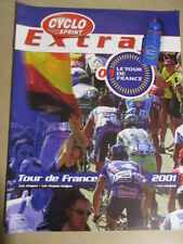 VELO : GUIDE DU TOUR DE FRANCE : 2001 : CYCLO SPRINT
